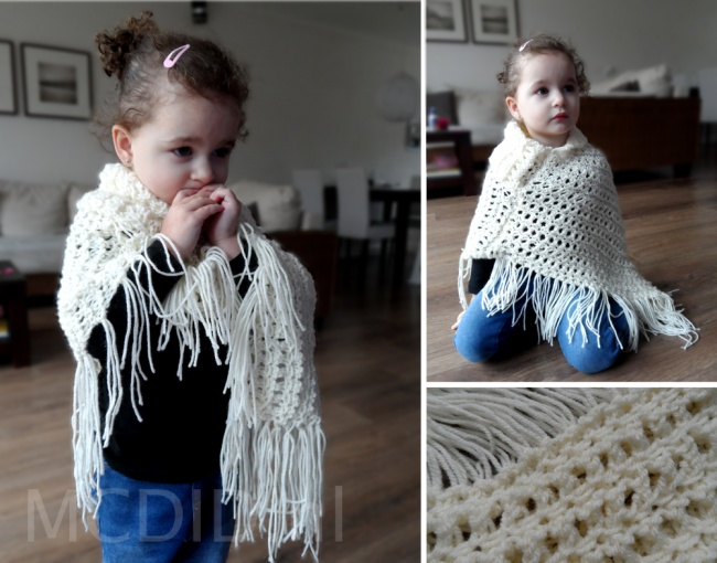 poncho kid girl knitting breien breien pinterest breien meisjes en kind. Black Bedroom Furniture Sets. Home Design Ideas