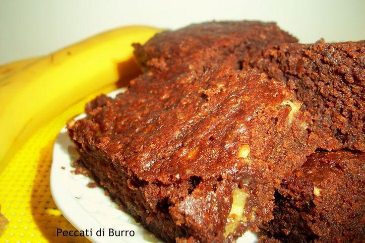 Peccati Di Burro....: Brownies alla Banana