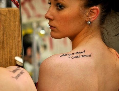 Free Make Money Online in Pakistan: Shoulder Tattoos for Girls