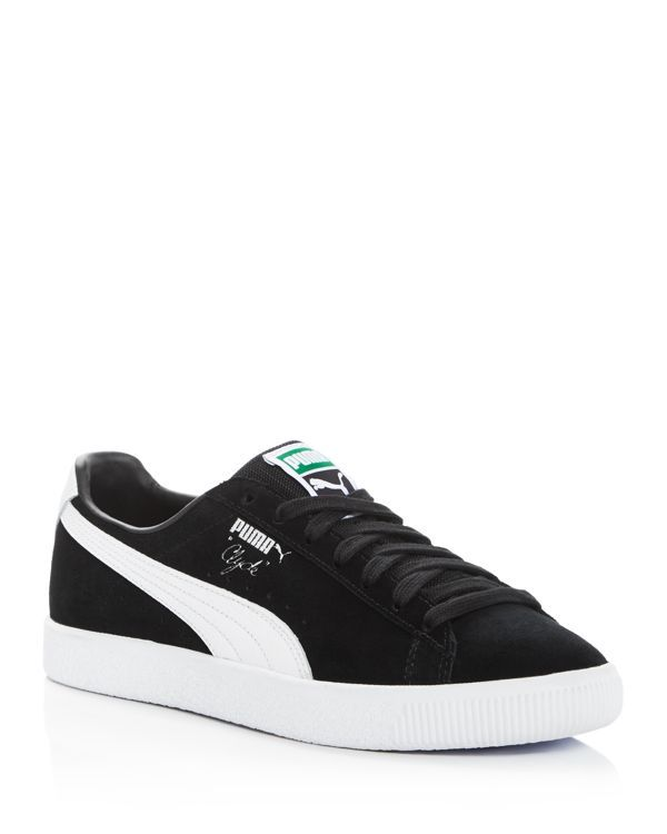 Puma Clyde B&C Lace Up Sneakers