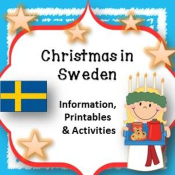 Christmas in Sweden - Activities and Printables                                                                                                                                                                                 More