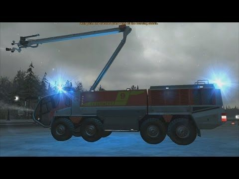 Airport Firefighter Simulator 2015 - ARFF Panther in Action! - YouTube