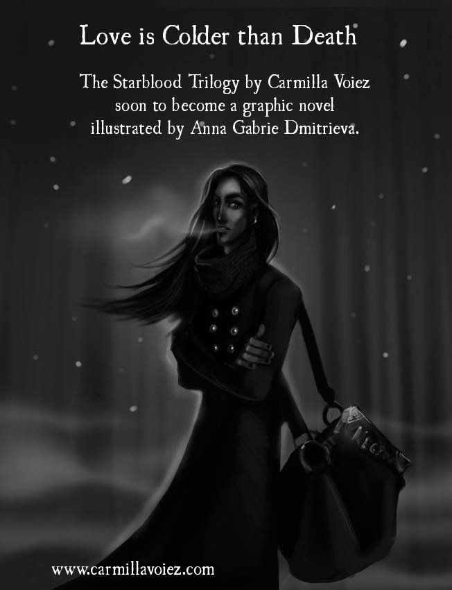 like https://www.facebook.com/Author.Carmilla.Voiez for updates