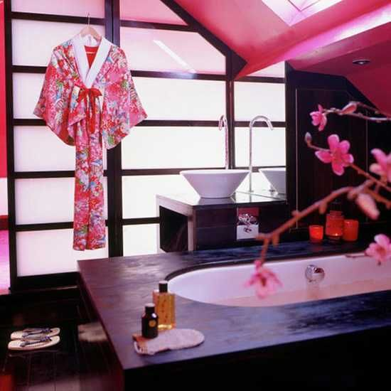 56 best Asian Inspired Bathroom images on Pinterest | Bathroom ...