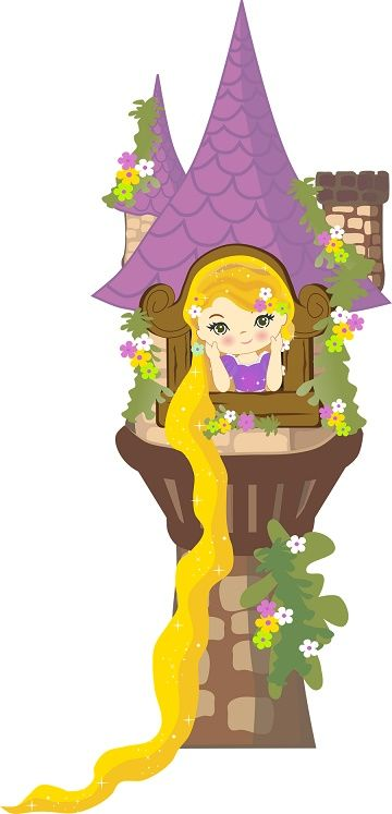 Imágenes del castillo de Rapunzel | Imágenes para Peques