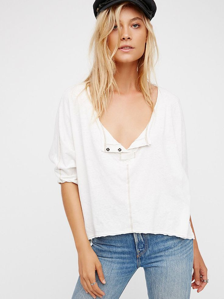 We The Free First Base Henley from Free People!