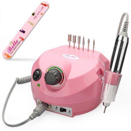 Belle 30,000RPM Nail Drill Machine Electric Nail File Manicure Pedicure Drill fo…
