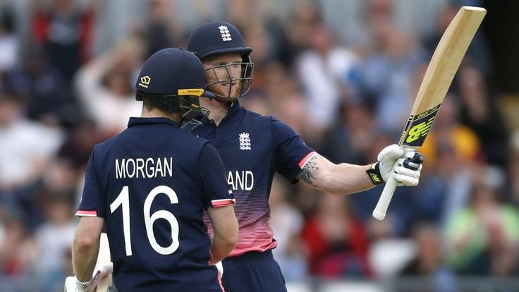 Ben Stokes' unbeaten 109-ball 102 and captain Eoin Morgan's half-century helped England beat Australia by 40 runs (D/L) in their final group game of the ICC Champions Trophy at Edgbaston.