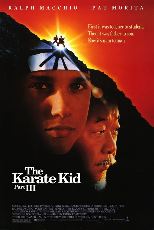 The Karate Kid Part III Movie Poster - Internet Movie Poster Awards Gallery