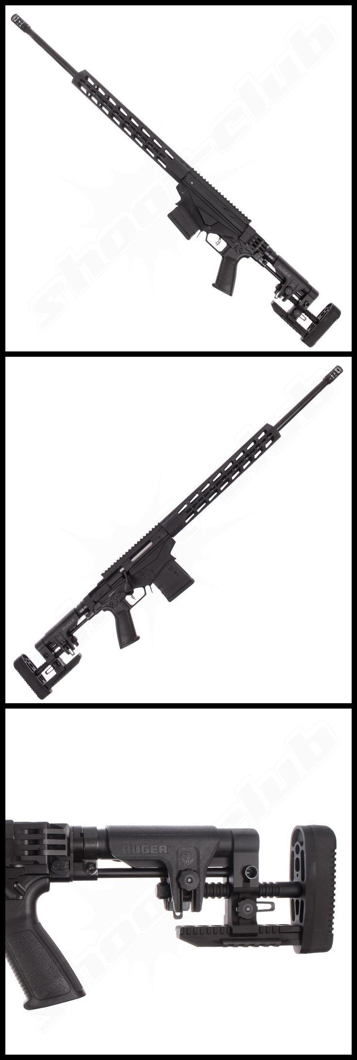 Ruger Precision Rifle Gen. 2, Repetierbüchse 6,5mm Creedmore - weitere Informationen und Produkte findet Ihr auf www.shoot-club.de - #shootclub #guns