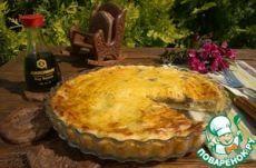 Картофельный пирог с куриной печенкой - кулинарный рецепт