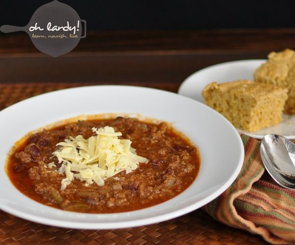 Amazing Beef Chili with Chicken Livers! Your family will never know the nutrient dense liver is in there!
