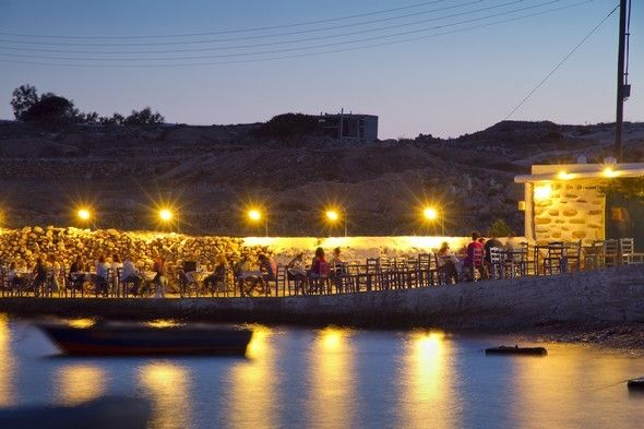 Carnayo restauran in Koufonissi island, Greece