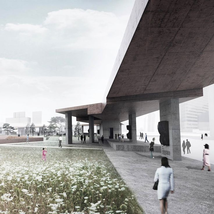 Second Place, Seosomun Memorial Park, Seoul, Built by PWFERRETTO in collaboration with ESOU Architects in Seoul, Korea, Republic of PWFERRETTO, a practice split between London and Seoul, have won second place in a competition to design the National ...