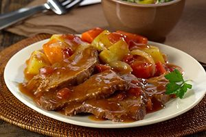 Succulent pot roast recipe is full of Caribbean flavour @DinnerbyDesign by @Cassi1986