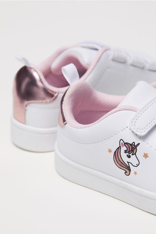 e0db03d4e3c3f H&M Sneakers - White in 2019 | Daughters Closet | Kid shoes, Kids ...