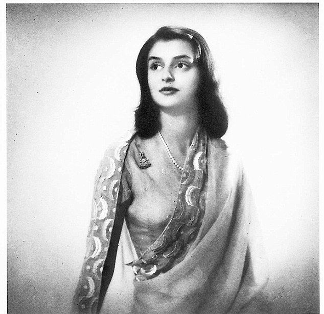 The 'unseen' Royal beauty: Stunning pictures of late Maharani Gayatri Devi reveal her many roles as a wife, mother and fashion icon