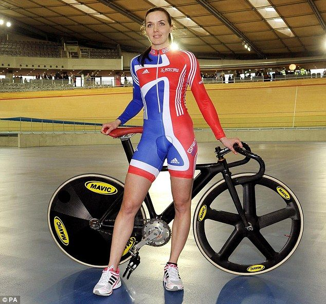'I wear a skintight suit to compete, so what's the difference?' Victoria Pendleton says her cycling kit leaves little to the imagination