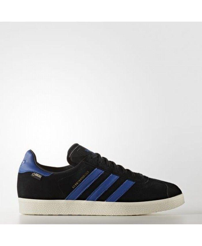 Adidas St. Petersburg Gore-Tex Mens Shoes Core Black Collegiate ...