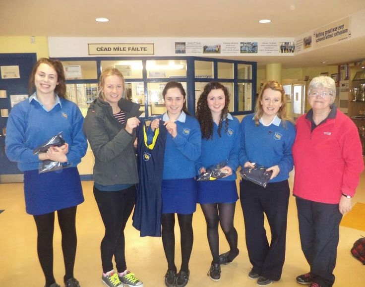The Ladies of Christ King Secondary School Rowing Club with their bespoke Bridget One-Pieces for the Irish Schools Regatta. Best of luck ladies