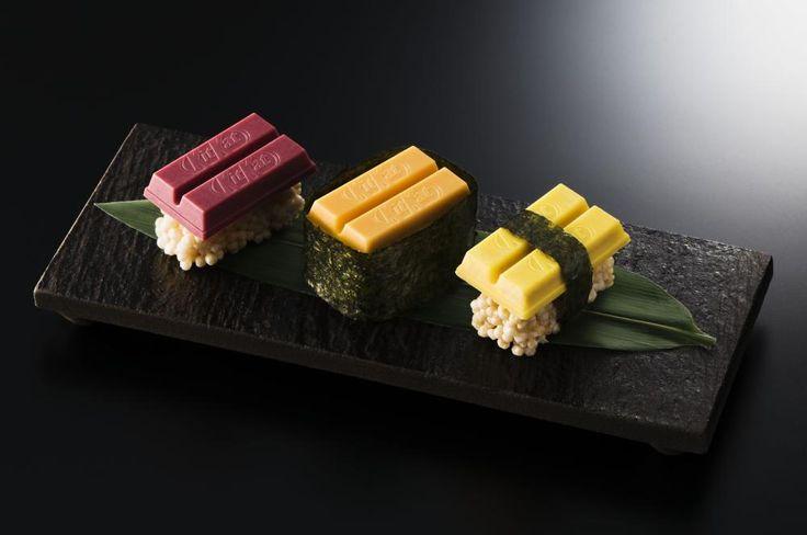 なんという遊び心! 「寿司キットカット」銀座で500人にプレゼント : 東京バーゲンマニア