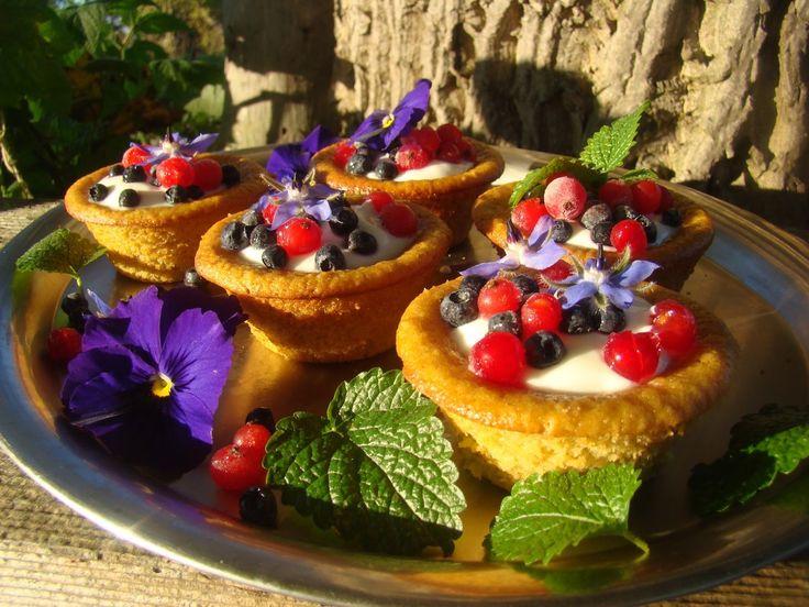 Ananasové muffinky z kukuřičné mouky