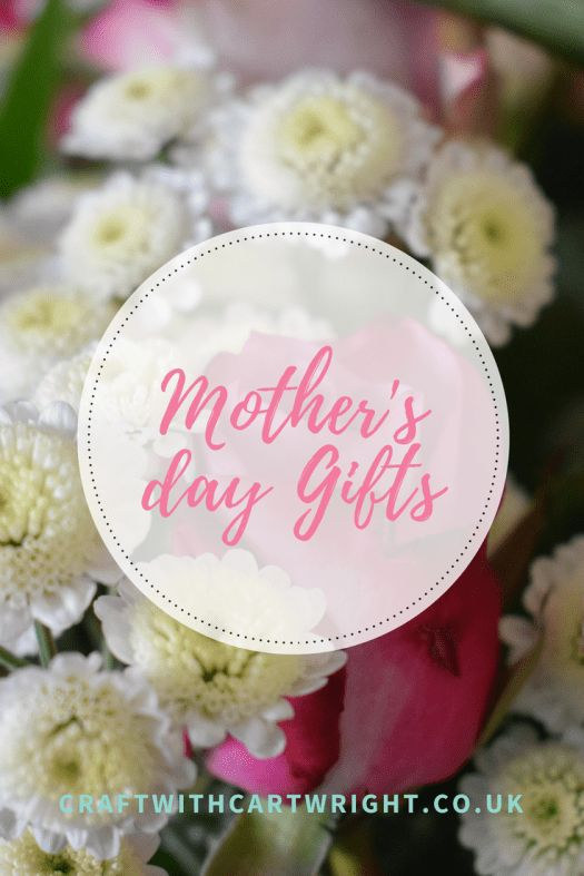 Mother's day gift guide - Craft with Cartwright