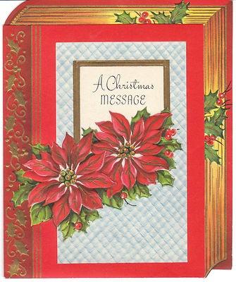 288 best Christmas Vintage-Flowers, Greenery, Misletoe, Pinecones ...