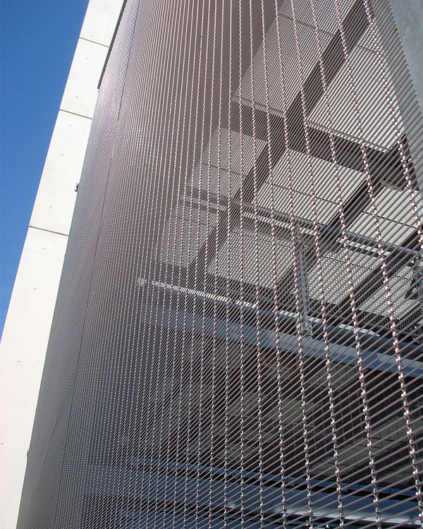 Architectural Wire Mesh Widely Used For Façade Design.