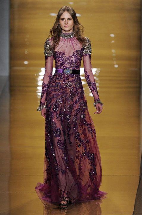 Najpiękniejsze suknie wieczorowe - Projekt: Reem Acra AW15