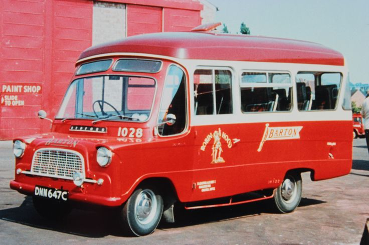 Barton Transport catered for parties of all sizes. Fleet no. 1028 was at the very lowest end of the scale being an 11 seater Martin Walter bodied Bedford