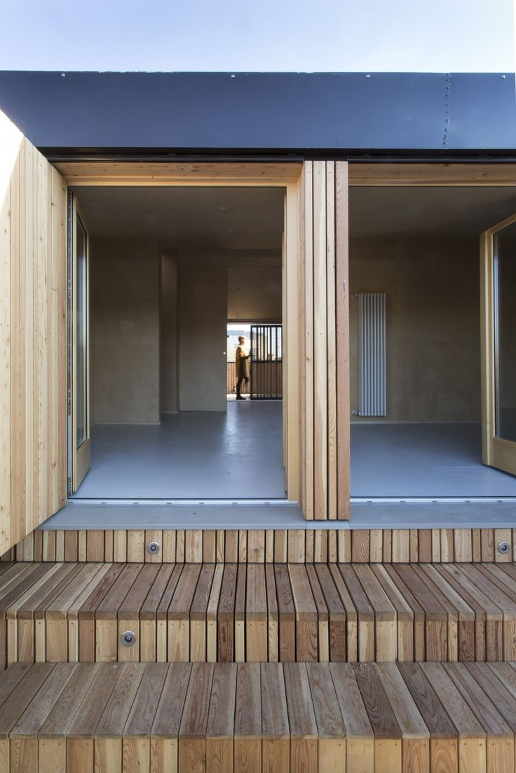 #architecture #timber #rooftop #renovation #extension #archdaily #archilovers #architizer #larch #timber #stack #terrace #exterior #instamood #refurbishment #milan #piuerre