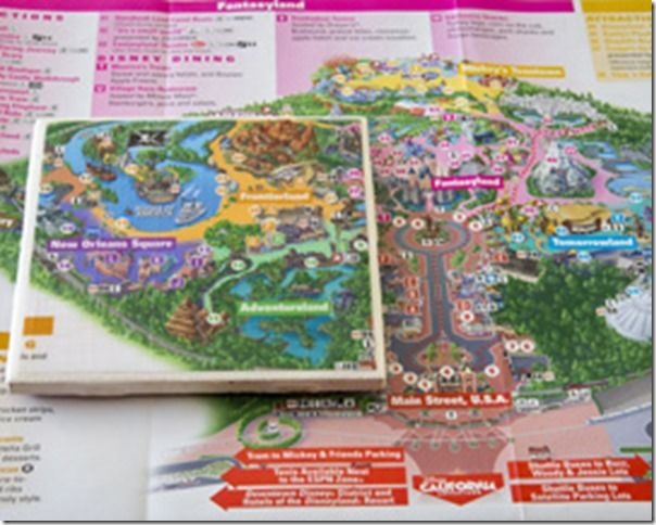 Top 5 Ways To Make Souvenirs From Disney Tickets and Park Maps!