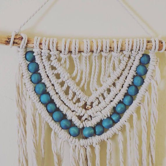 Wall decor gift,Bohemian decor,Unique gift for her,Tapestry wall decor, Macrame wall art,Gypsy wall decor,Gift for woman,Gift for mom,Boho chic,Boho style,Bohemian art,Macrame wall hanging,Gypsy style   Hi everyone, Thank you for visiting my shop :)   Beautiful macrame wall hanging I made with a lot of love~   My name is Danit Moreno, Im married and have two sweet children. When I became a mother I was thinking a lot about what I realy want to do.. I always had a passion for art, working…