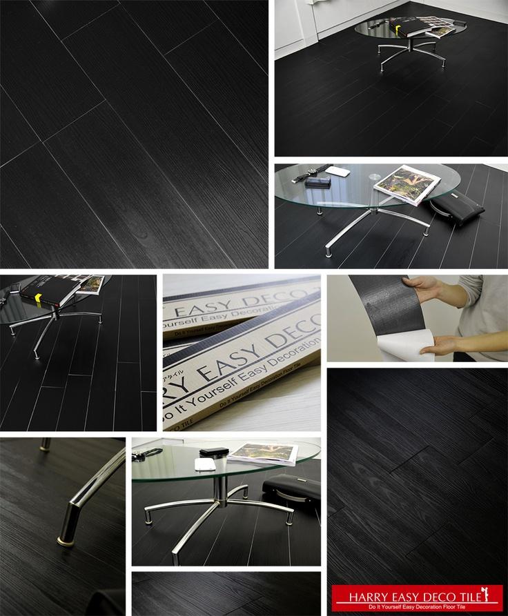 harry easy deco tile black