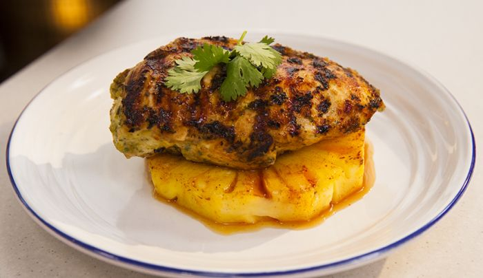 Mojo Marinade Chicken with Pineapple
