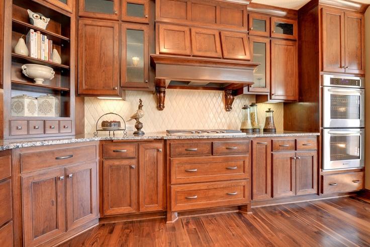 Cherry Cabinet Kitchen Ideas