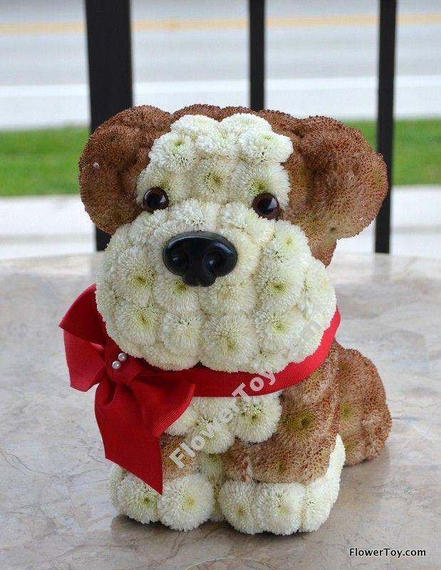 FlowerToy Bulldog Doggy