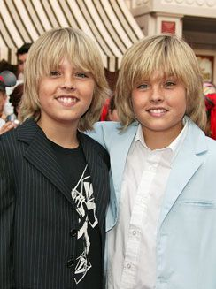 Dylan and Cole Sprouse - (08/04/1992) cole was my first crush