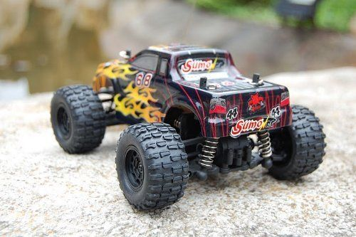 SUMO RC ~ 1/24 SCALE ELECTRIC ~ TRUCK ~ By Redcat Racing ~ YELLOW FLAMES ! by SUMO RC ~ 1/24 SCALE ELECTRIC ~ TRUCK ~ By Redcat Racing ~ YELLOW FLAMES !. $59.99. SUMO RC ~ 1/24 SCALE ELECTRIC ~ TRUCK ~ By Redcat Racing ~ YELLOW FLAMES !. Introducing the new 1/24 scale SUMO RC vehicles from Redcat Racing. Don't confuse these little vehicles as toys! They are hobby grade fully upgradeable trucks, truggies and buggies. Available hopups include, motors, shocks, bearin...