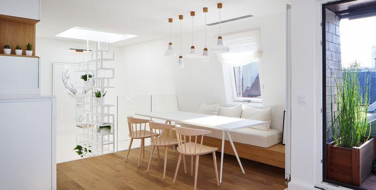 Duplex sur les toits de Paris par Capo architectes