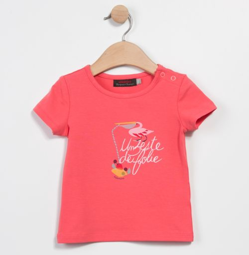 T shirt corail Catimini
