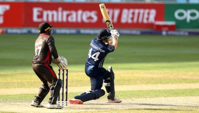 2020 T20 World Cup Qualifier Uae S Hopes Go Up In Flames As Scotland Clinch Australia Berth World Cup Qualifiers World Cup Australia