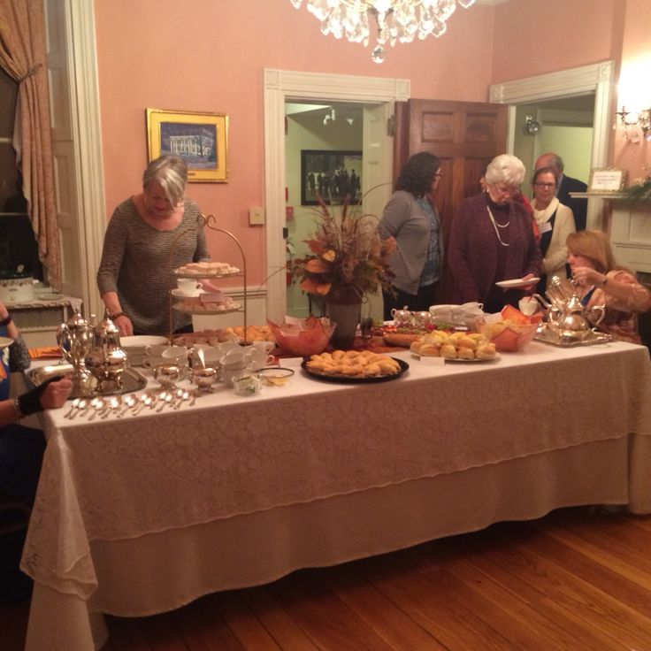Ace Waters Mansion Dining room Inauguration Night
