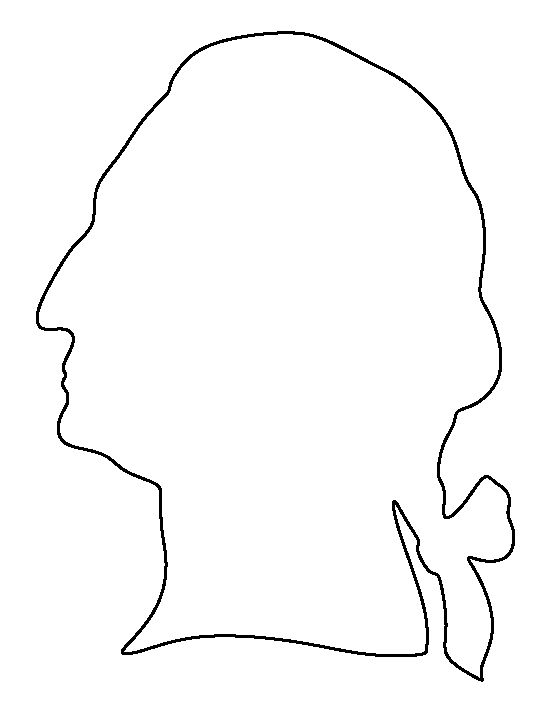 George Washington pattern. Use the printable outline for ...