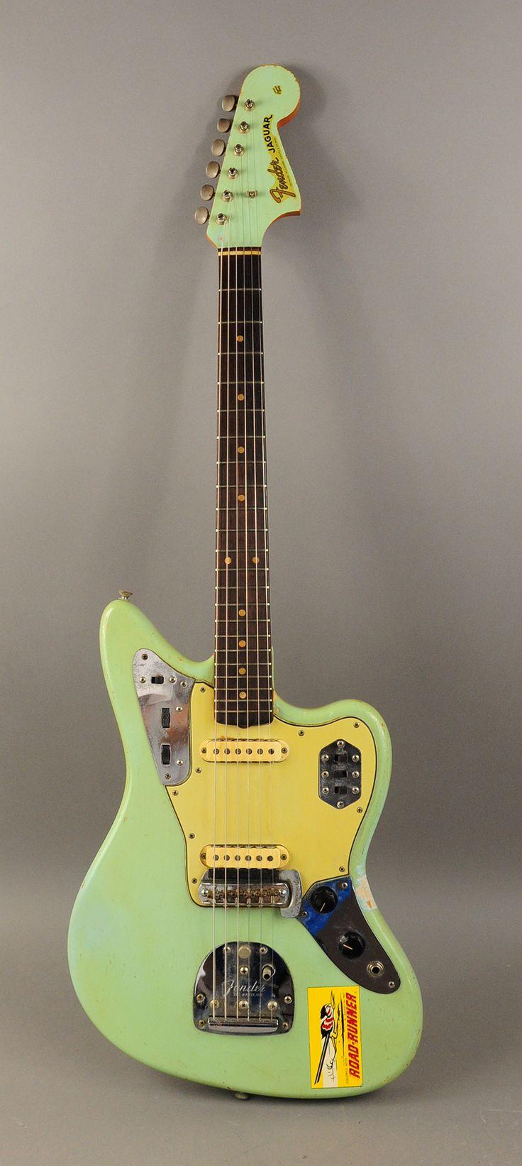 1963 sonic blue Fender Jaguar, original vintage - If you gonna jam, why not do it with a Jaguar.