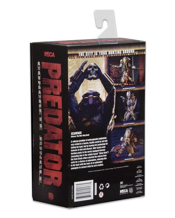 "NECA ULTIMATE SCARFACE PREDATOR 7"" ACTION FIGURE - CONCRETE JUNGLE VIDEO GAME"