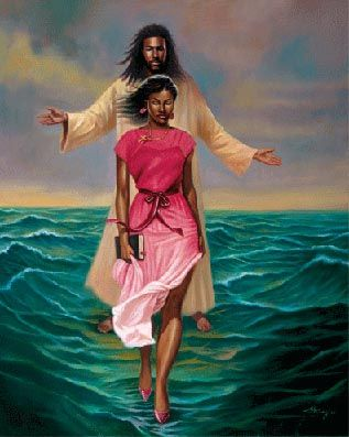 """I can do all things through Christ which strengtheneth me."" Philippians 4:13. Strength comes by exercising faith, the belief and the doing through a lifetime. Then we walk on water, ""which waters are a representation of the love of God."" 1 Nephi 11:25 ~Julie Schenk Lassetter"