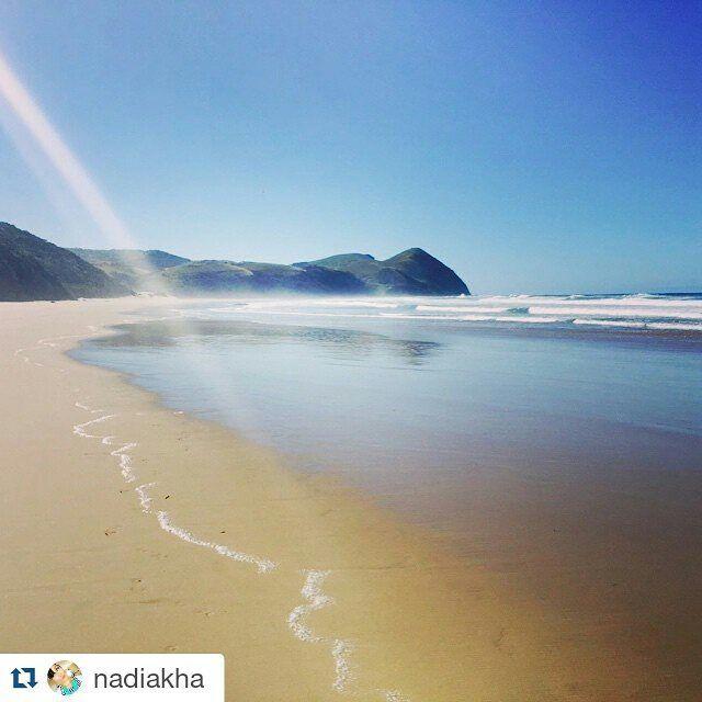 #Repost @nadiakha with @repostapp ・・・ So isolated. So beautiful. Great birthday getaway. #umngazi #beach #happiness #birthdayvacay #tbt