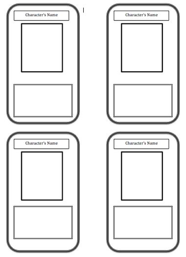 43 best Gingerbread Recipe Cards images on Pinterest Gingerbread - trading card template